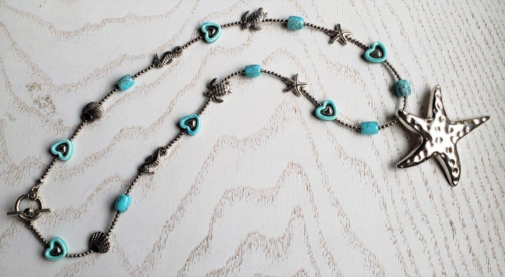 N84_starfish_silver_charms_beads